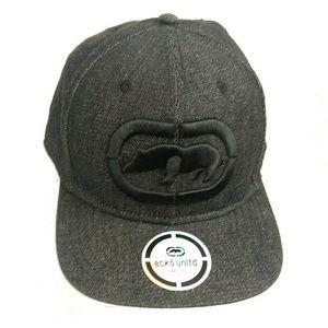 Black Ecko Unltd Snapback Hat